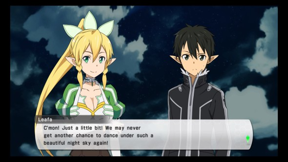 SAO LS personal quest example