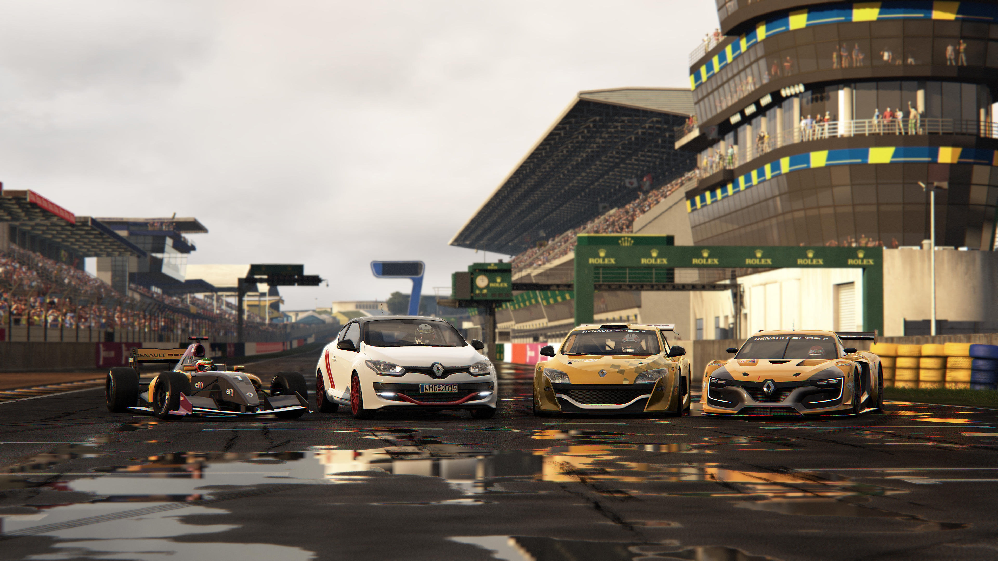 Perfect Project CARS Renault Sport Car Pack
