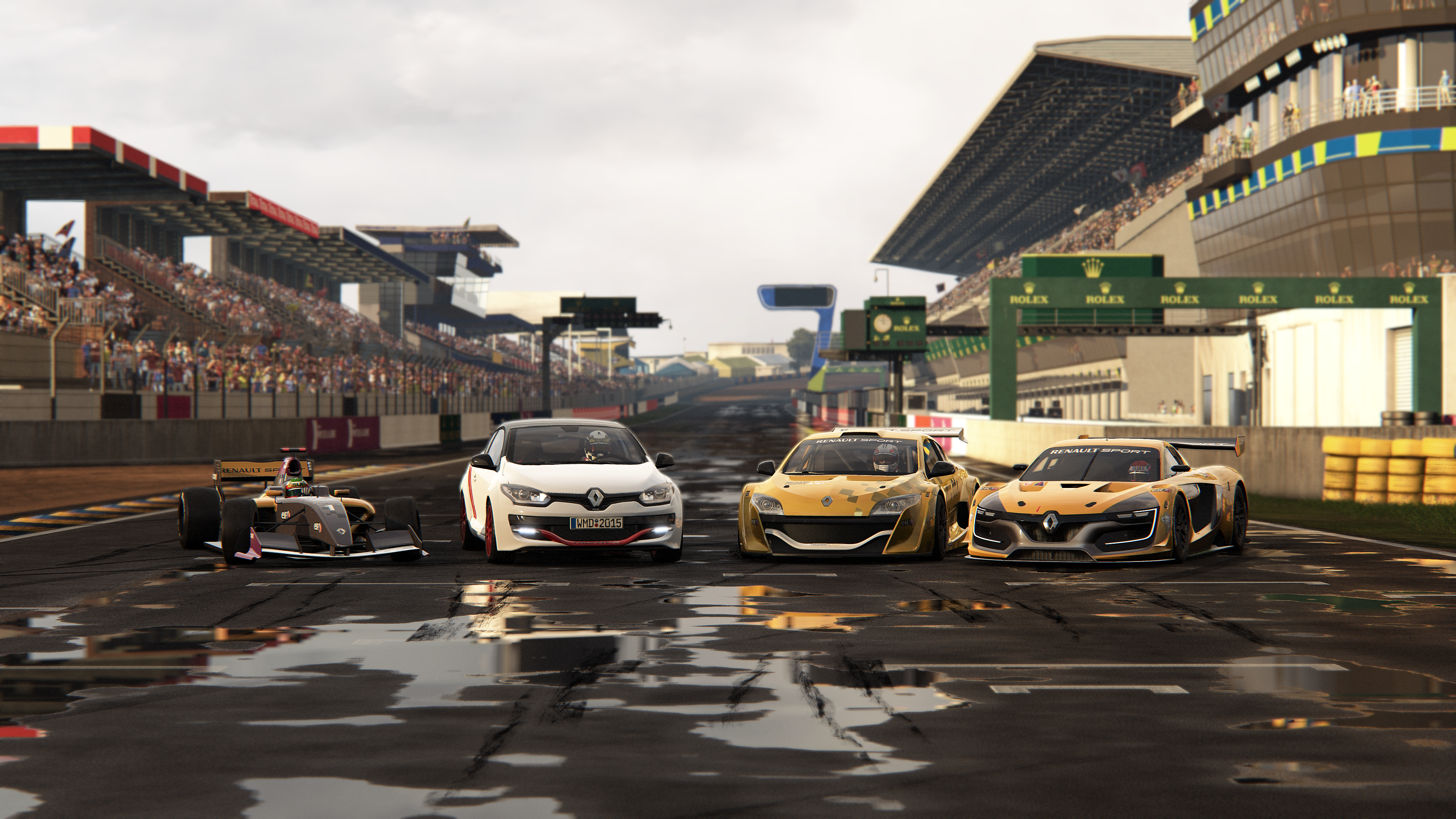 Elegant Project CARS Renault Sport Car Pack