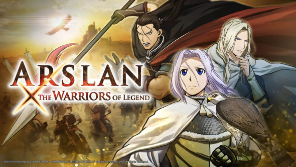 Original scenarios, characters and stages for Arslan: The Warriors of Legend