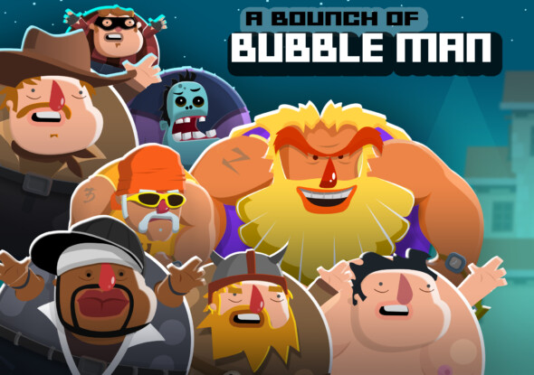 Bubble Man: Rises available now on mobile