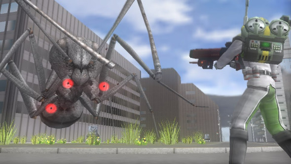 Earth Defense Force Invaders From Planet Space 1