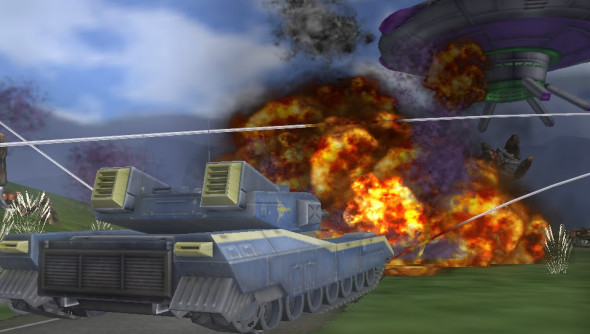 Earth Defense Force Invaders From Planet Space 2