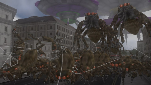 Earth Defense Force Invaders From Planet Space 3