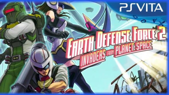 Earth Defense Force 2: Invaders from Planet Space available now in Europe