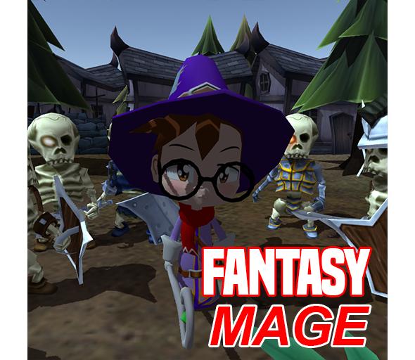 Let's light up some skeletons in Fantasy Mage!