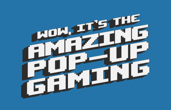 Battle an old enemy in Pop-up Gaming
