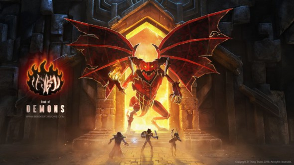 Book of Demons to pay tribute to classic hack'n'slash games
