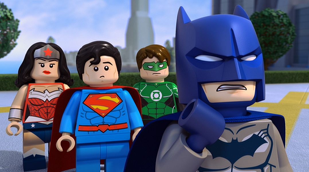 3rd Strike Com Lego Dc Comics Super Heroes Justice League Cosmic Clash Dvd Movie Review