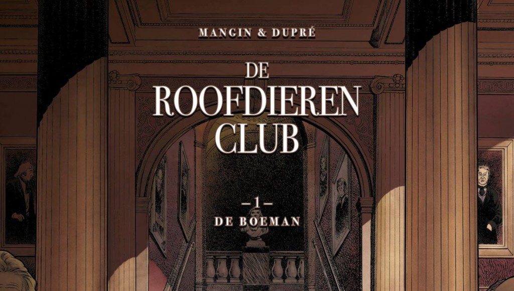 De Roofdierenclub #1 De Boeman Banner