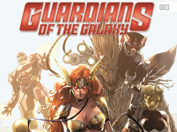 Guardians of the Galaxy #003 Banner