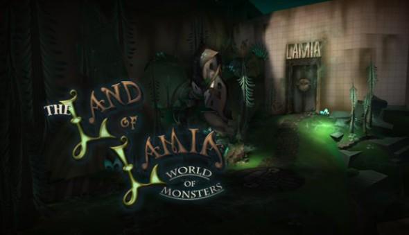 Land of Lamia Logo