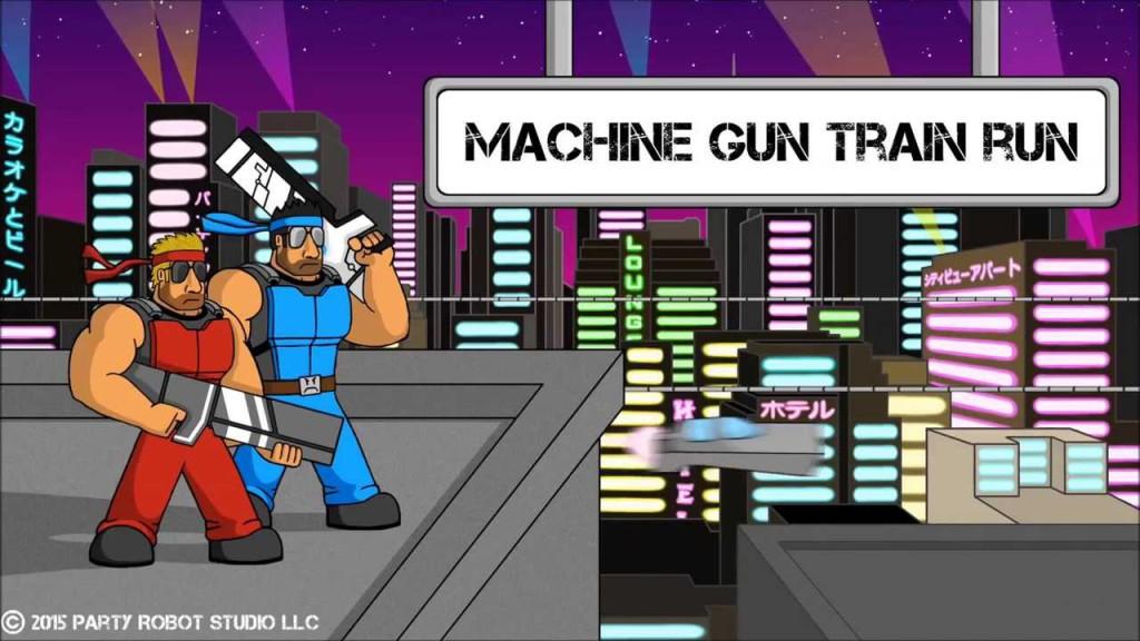 Machine Gun Train Run