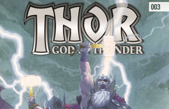 Thor God of Thunder #003 Banner