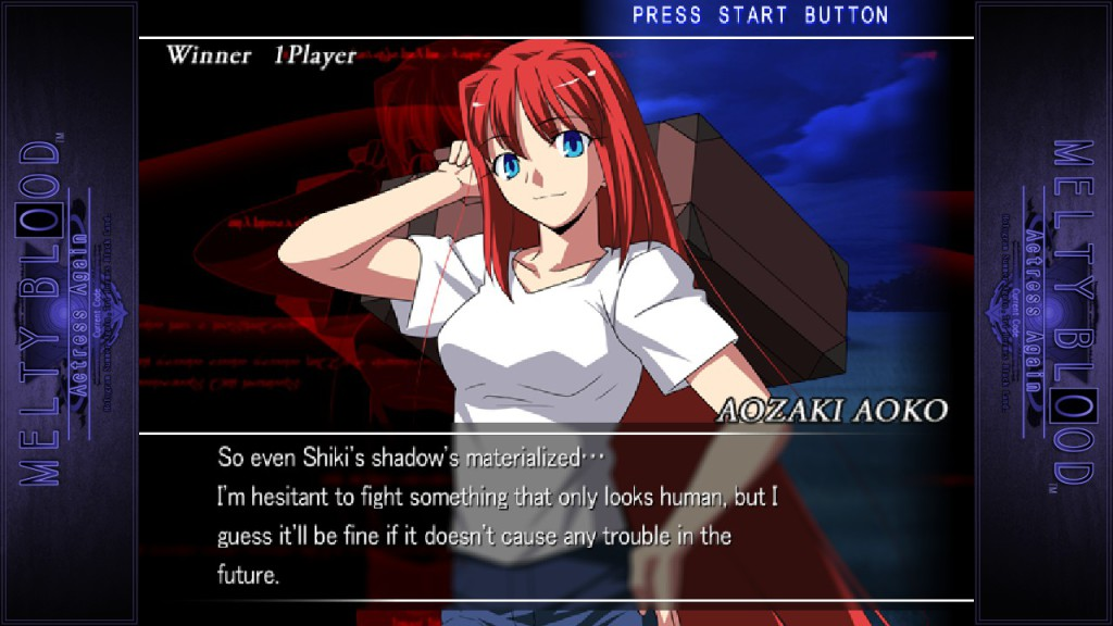 Melty Blood Actress Again Current Code  4