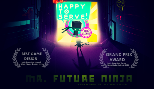 Beta demo and Twitch campaign for Mr. Future Ninja