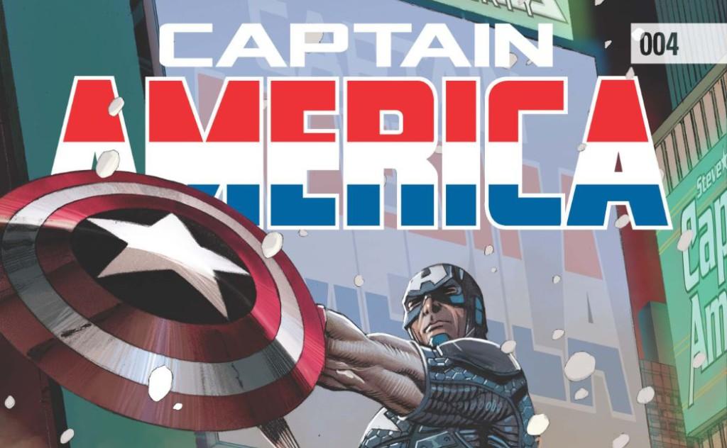 Captain America #004 Banner