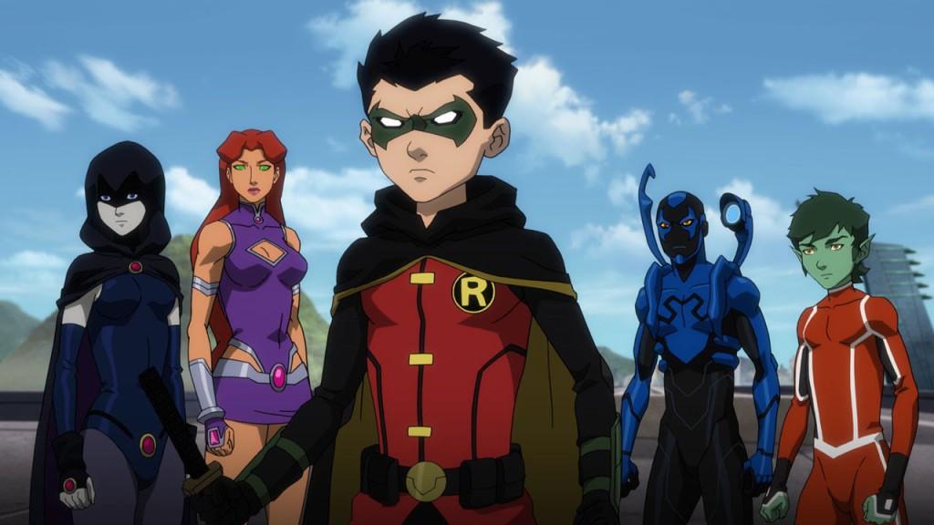 Justice League vs. Teen Titans 1
