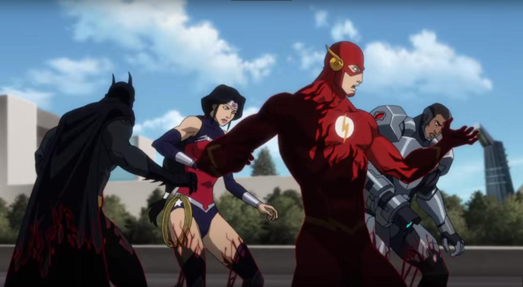 Justice League vs. Teen Titans 2