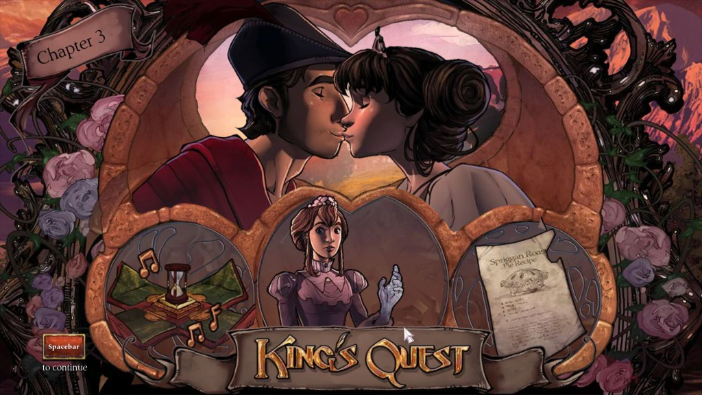 King's Quest Once upon a climb 6
