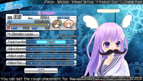 MegaTagmension Blanc + Neptune VS Zombies 4