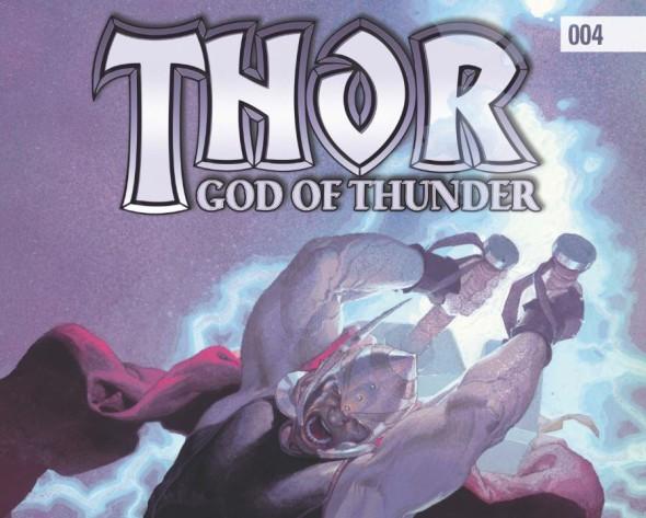 Thor God of Thunder #004 Featured