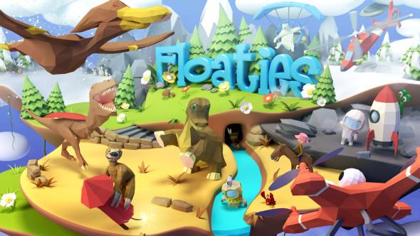 An endless floating adventure in Floaties