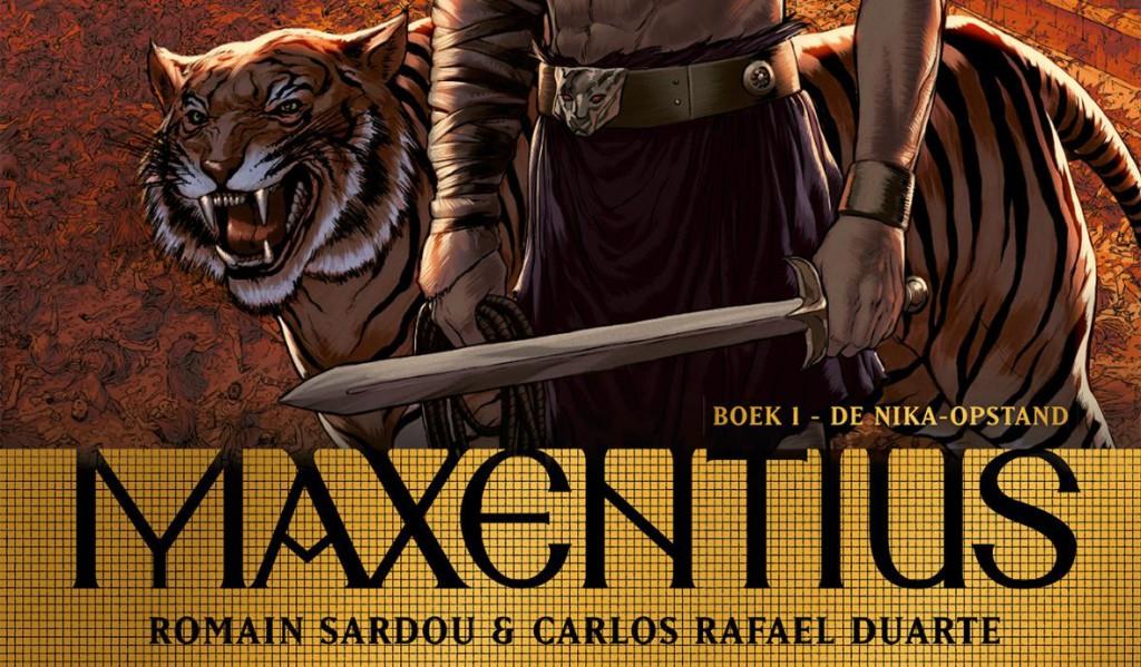 Maxentius Boek 1 De Nika-opstand Banner