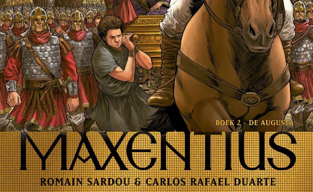 Maxentius Boek 2 De Augusta Banner