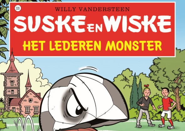 Suske en Wiske #335 Het Lederen Monster Banner