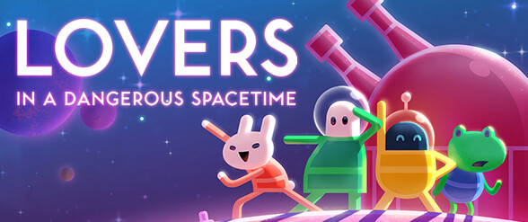 4-player co-op mode for Lovers in a Dangerous Spacetime launched