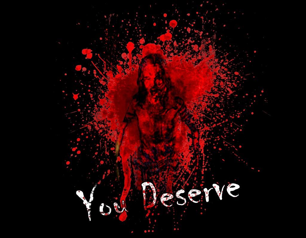 you deserve logo