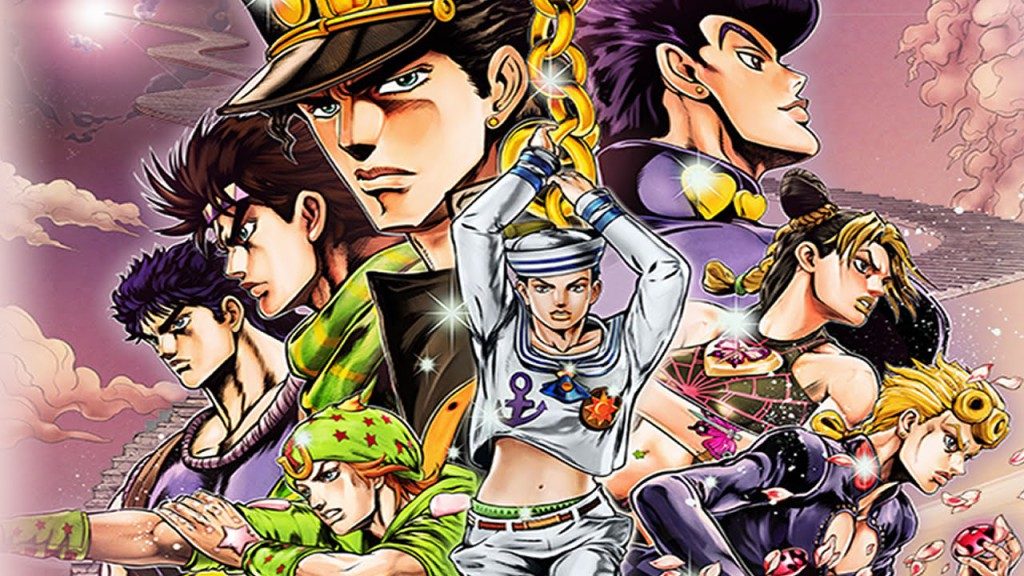 Jojo's Bizzarre Adventure Eyes of heaven 1