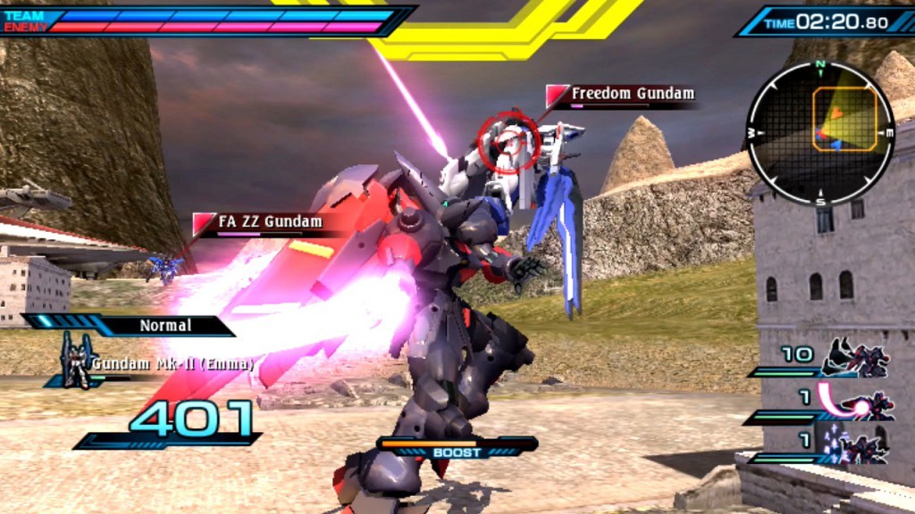 Mobile Suit Gundam Extreme VS-Force 2