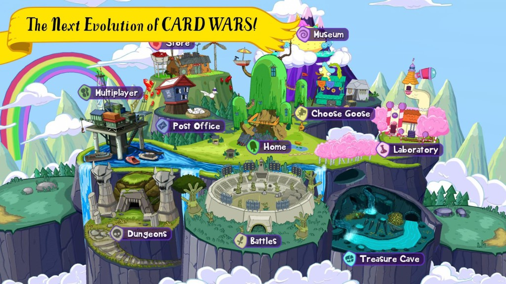 Adventure Time Card Wars Kingdom