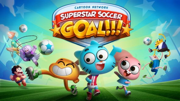 Cartoon Network Superstar Soccer: Goal!!! Available Now