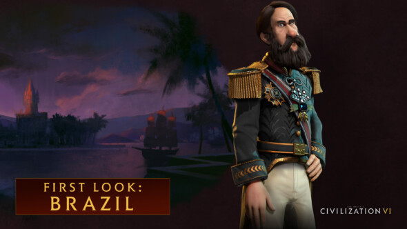 First Look at Brazil – Pedro II Leads in Civilization VI
