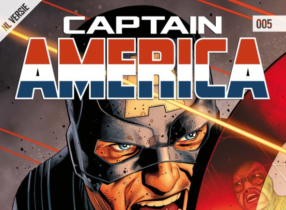 Captain America #005 Banner