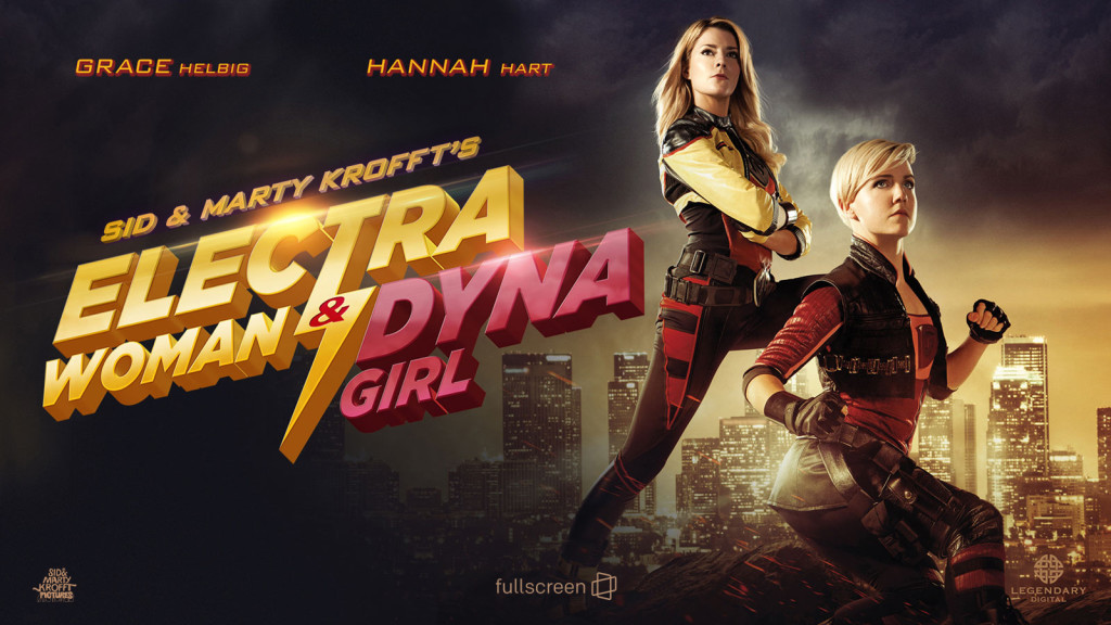 Electra Woman And Dyna Girl Banner