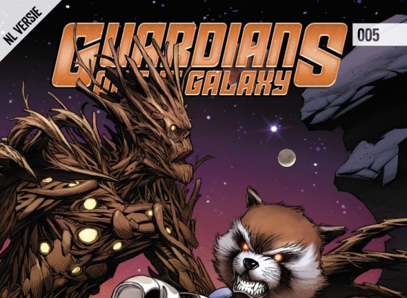 Guardians of the Galaxy #005 Banner