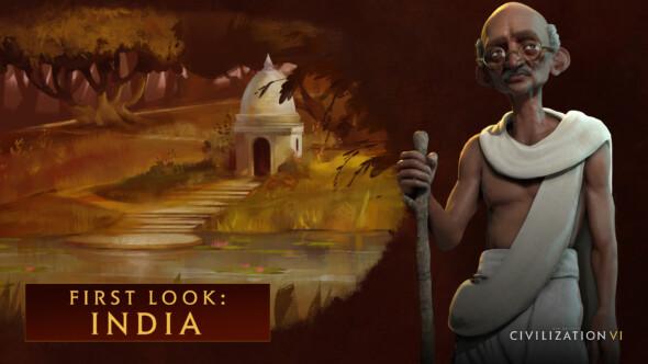 Civilization VI – First Look At Gandhi's India