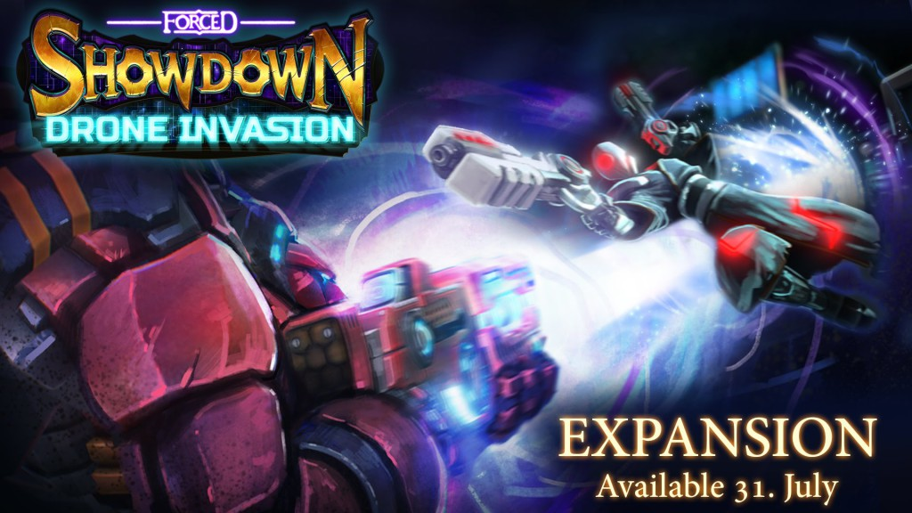 forced showdown drone invasion logo