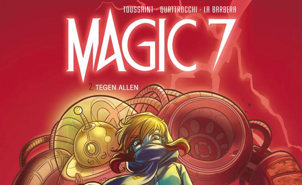 Magic 7 #2 Tegen Allen Banner