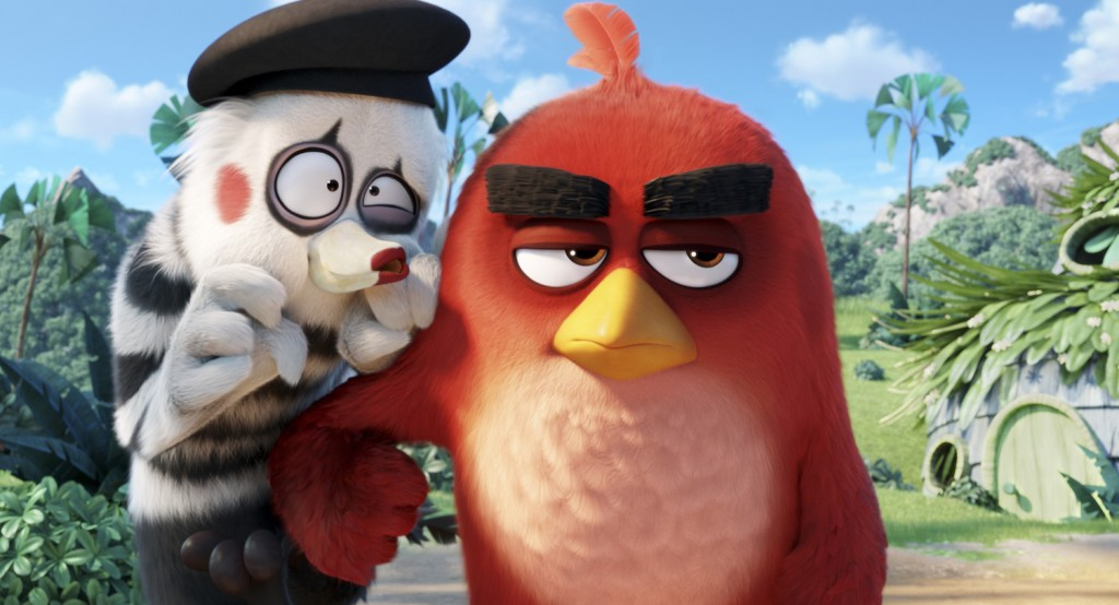 Angry Birds Movie Characters: The Angry Birds Movie (Blu-ray) – Movie