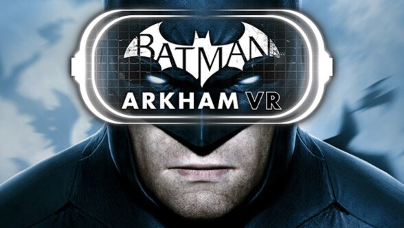 Explore Arkham like never before in the VR experience