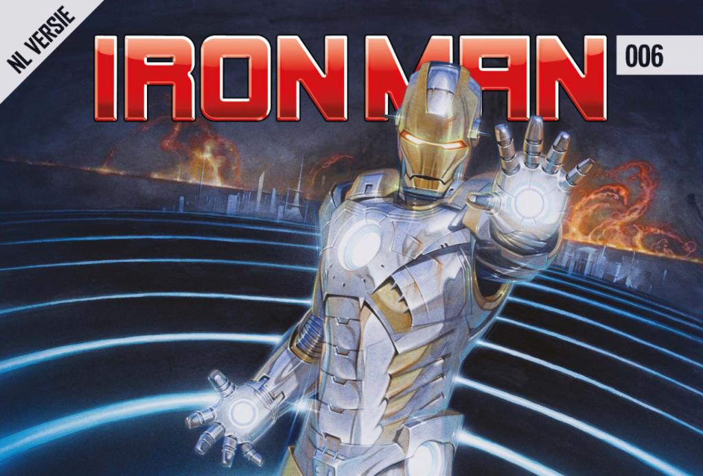 Iron Man #006 Banner