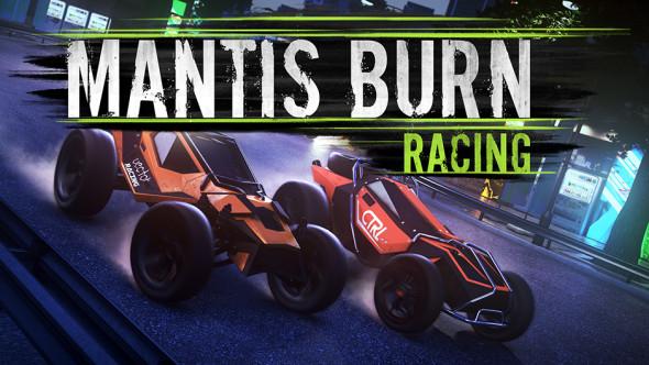 Mantis Burn Racing Banner