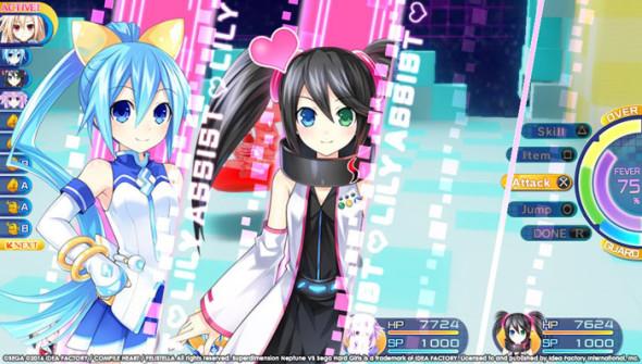 Superdimension Neptune VS Sega Hard Girls 4