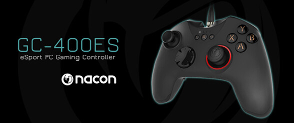 The ultimate PC-controller Nacon's GC-400ES will be available soon