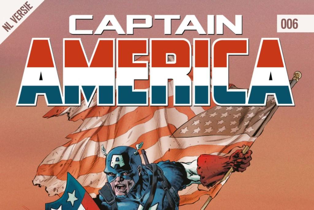 Captain America #006 Banner